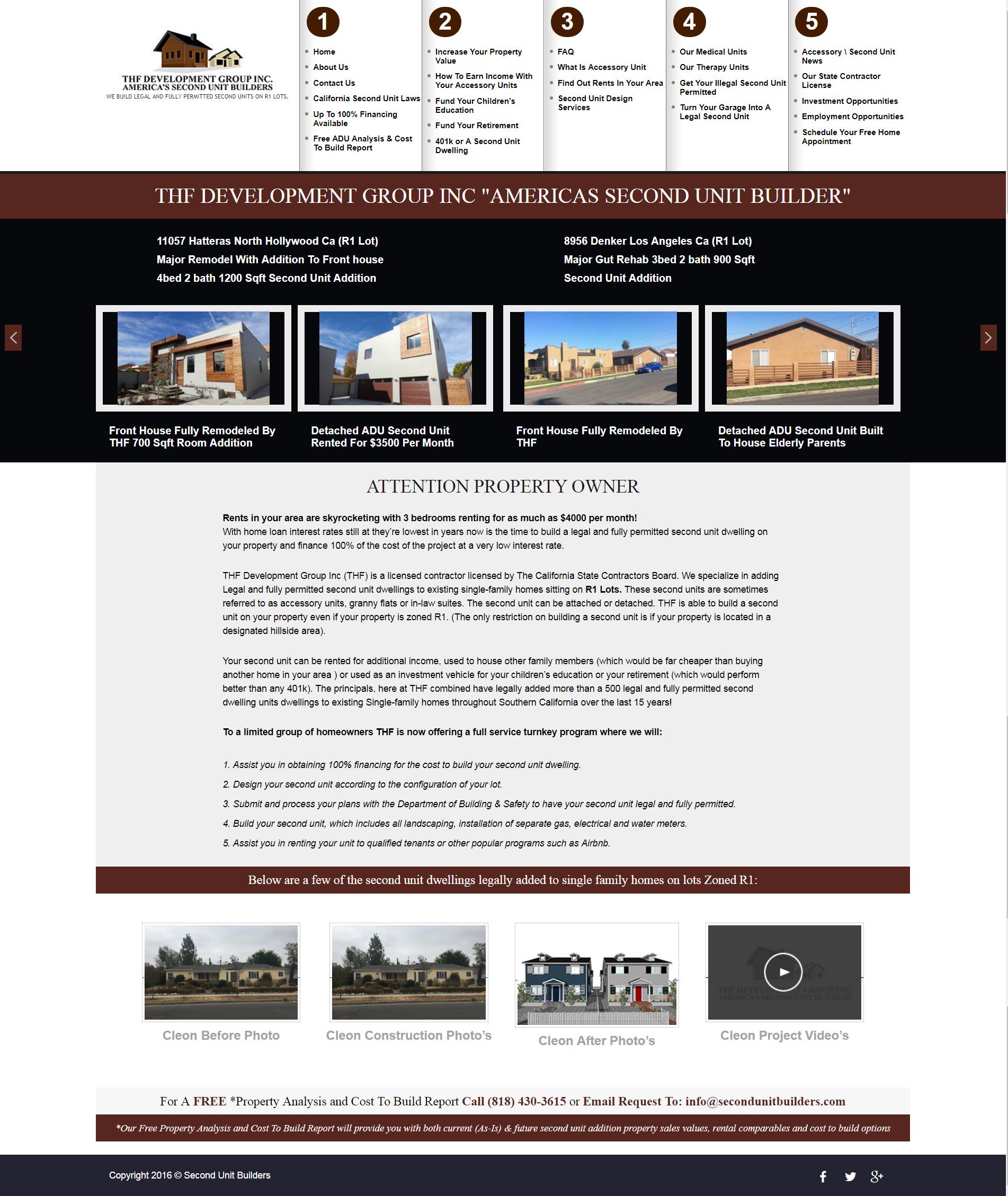 Second Unit Builders - Sibz Solutions