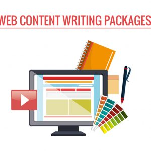 Web Content Writing Packages