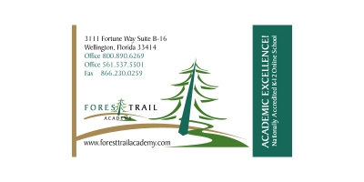 Forest Trail Academy Business Card