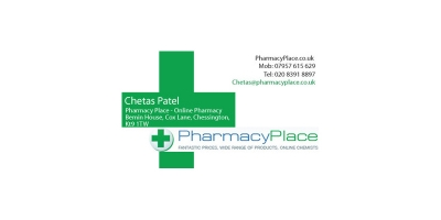 Pharmacy Place Business Card Sample 01