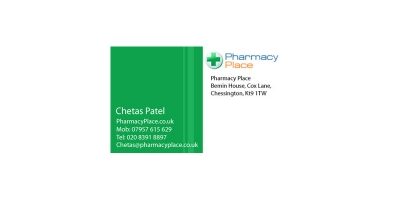 Pharmacy Place Business Card Sample 03