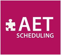 AET Scheduling Logo