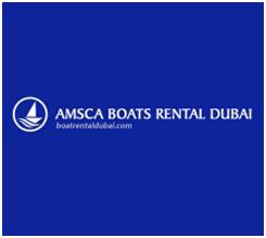 AMSCA Boat Rental Dubai Logo