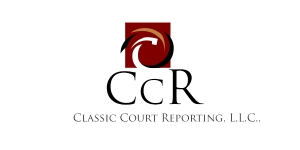 Classic Court Reporting L.L.C. Logo