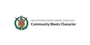 Community meets Character Logo